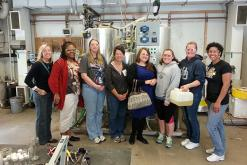 Delaware high school teachers toured facilities at UD and DuPont to learn more about the production of biofuels and bioproducts.